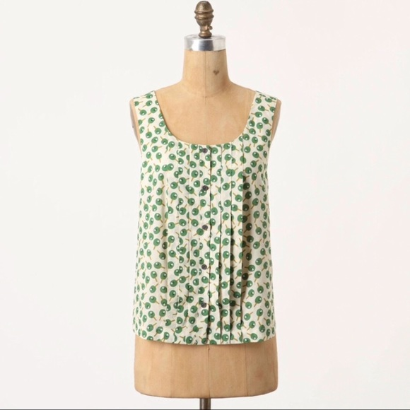 Anthropologie Tops - 👗Anthropologie Postmark Ping Pong Olea Tank 00